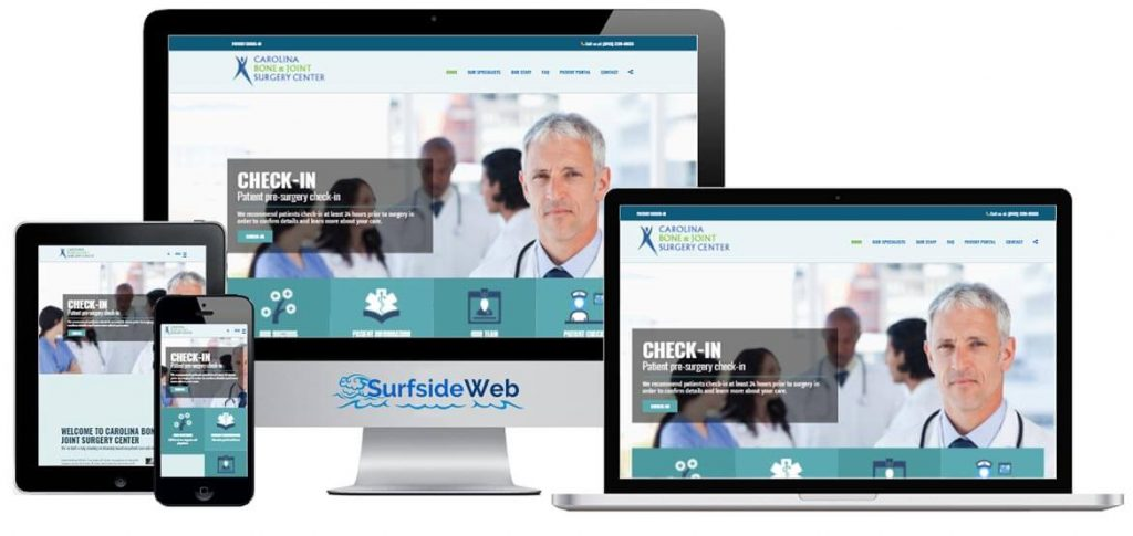 Doctor Physician and Medical Center Websites