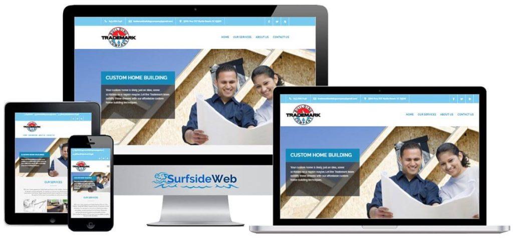 Construction Company Web Design